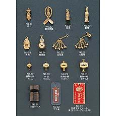 护身符,佛教,Nyorai,Kannon,Tengu,金瓜,木槌,Inro