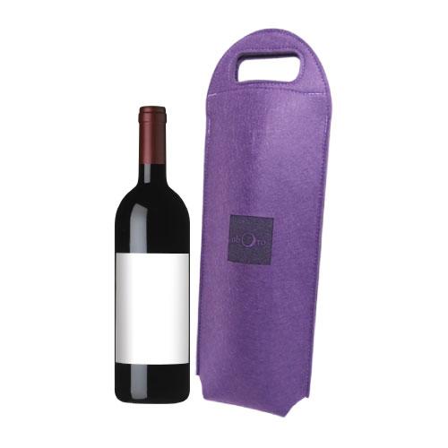 펠트 제 와인 가방
