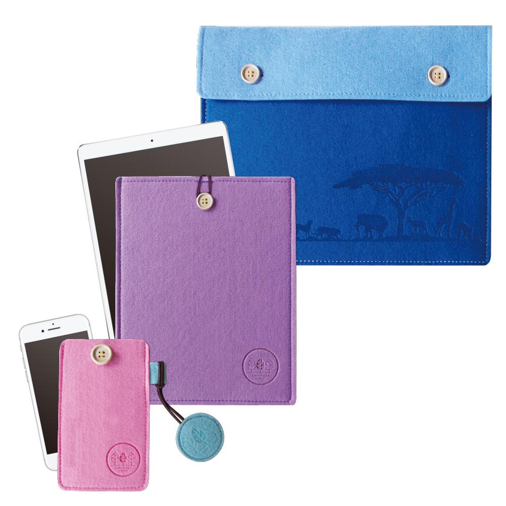 Felt smartphone case / tablet case