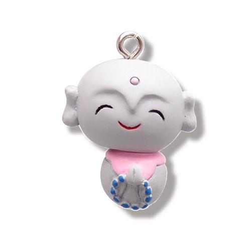 Original poly mascot keychain