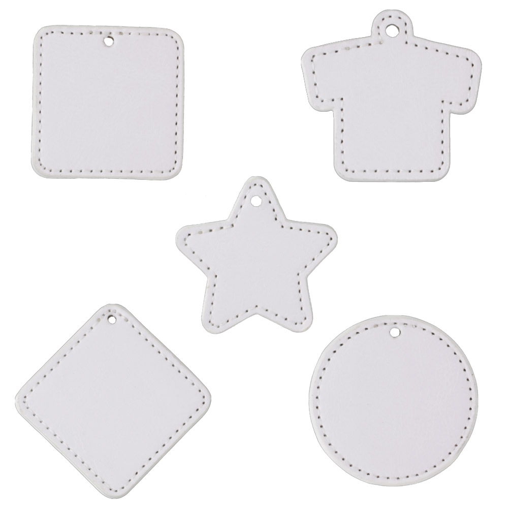 PU (Synthetic Leather) Plate Charm