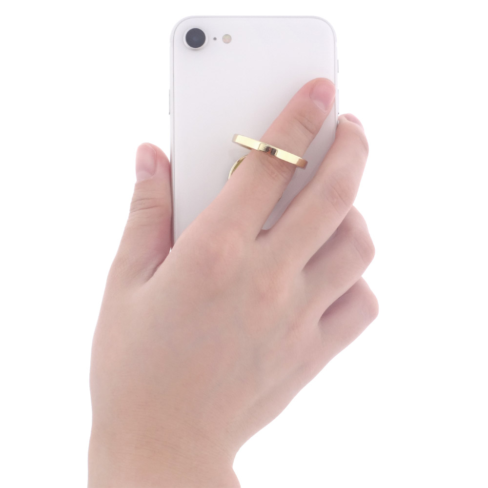 Diecast smartphone stand ring