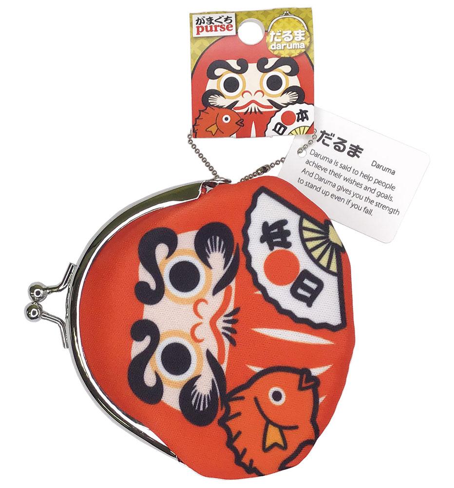 Japanese pattern Maguchi Daruma